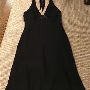 Halter Dress - Black